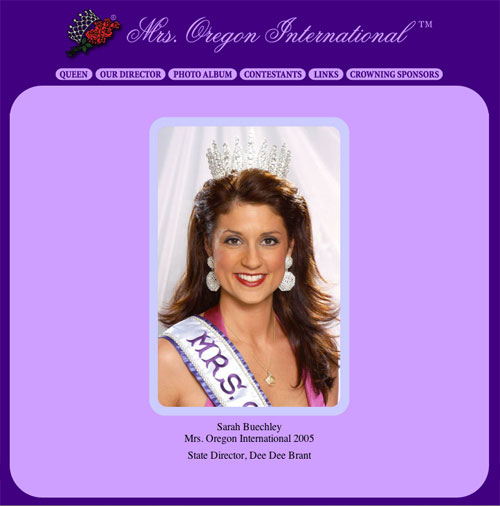 mrs oregon international